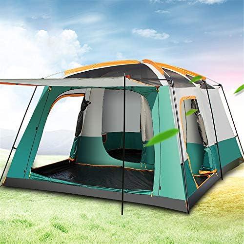 WANGYANNING Toldo para Carpa de Camping a Prueba de Viento, Refugio para Acampar, Dos Habitaciones, una habitación, Doble Capa, Impermeable, a Prueba de Viento y protección UV