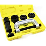 Ball Joint U Joint 4 In 1 C Frame Press Service Kit 4 Truck Brake Anchor Pins by JDM Auto Lights