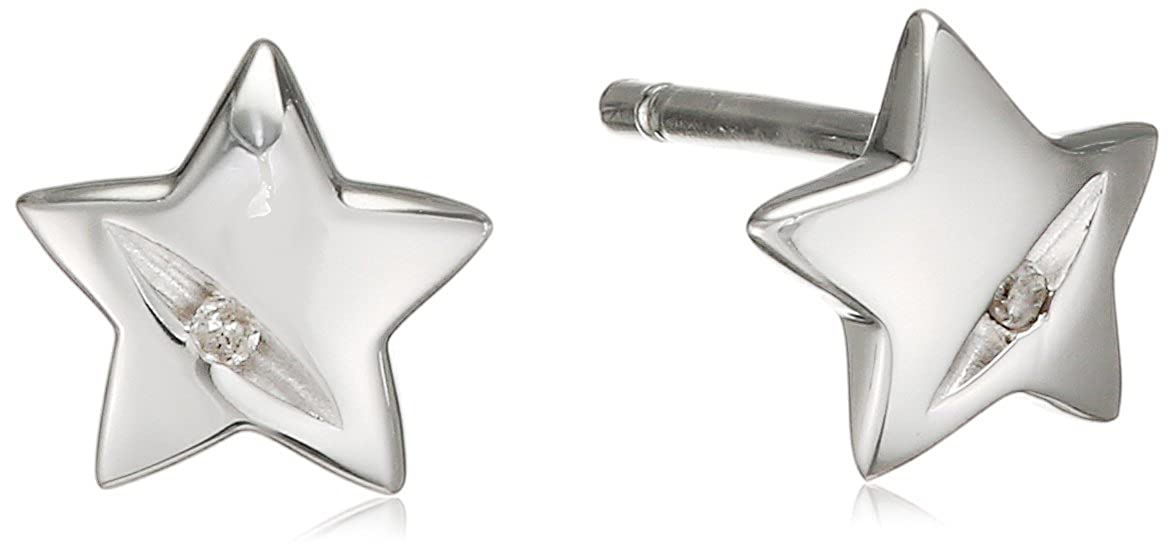 104cb1860 Hot Diamonds Shooting Stars Sterling Silver Earrings: Amazon.co.uk:  Jewellery