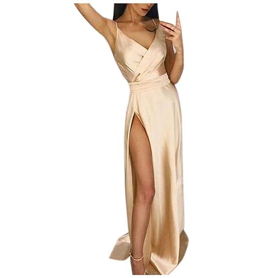 Anmain Sexy Festa Vestiti Eleganti Donna b521a9c592e