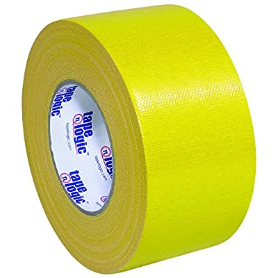 "Partners Brand PT988100Y Tape Logic Duct Tape, 10 mil, 3"" x 60 yd, Yellow (Pack of 16) by Partners Brand"