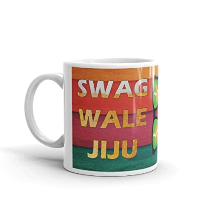 Buy Family Shoping Birthday Gifts For Jiju Bhaidooj Brother In Law Swag Wale White Coffee Mug Online At Low Prices