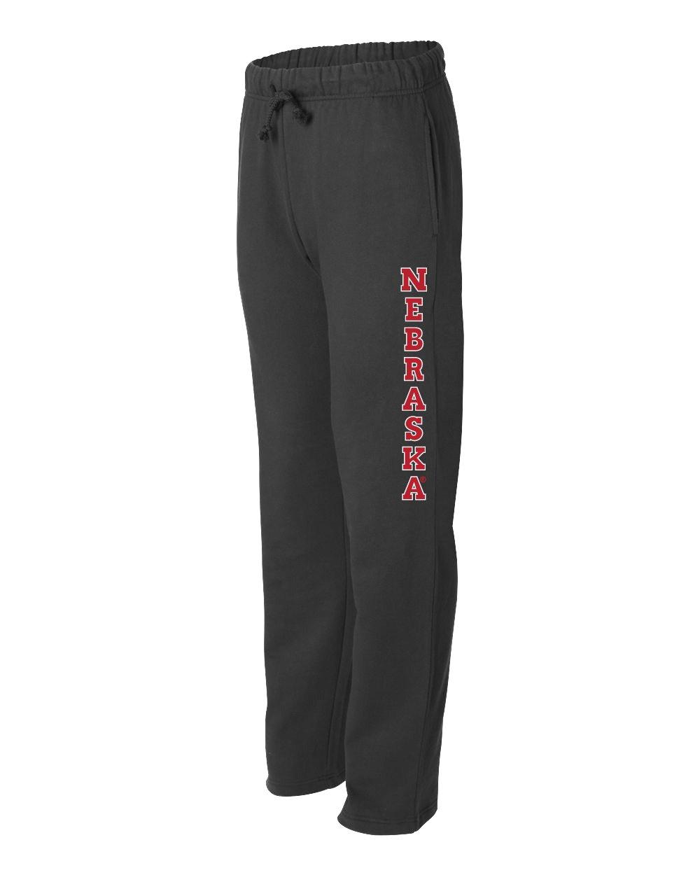 You Choose CornBorn 20 Premium Nebraska Fleece Sweatpants Husker Graphics