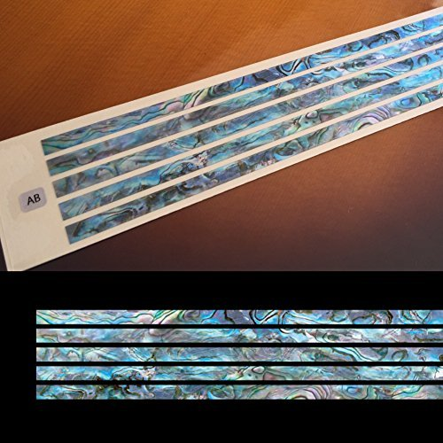 Inlay Sticker Decal For Guitar In Abalone Theme - Sticks 5mm /BL