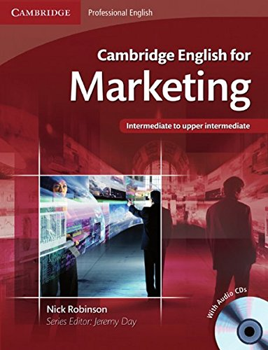 Cambridge English for Marketing: Student's Book + Audio CD