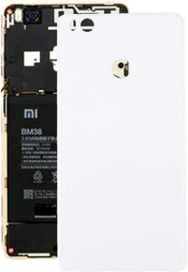 Zhouzl Xiaomi Repuesto Batería Trasera Xiaomi Mi 4s Xiaomi Repuesto (Color : Blanco)