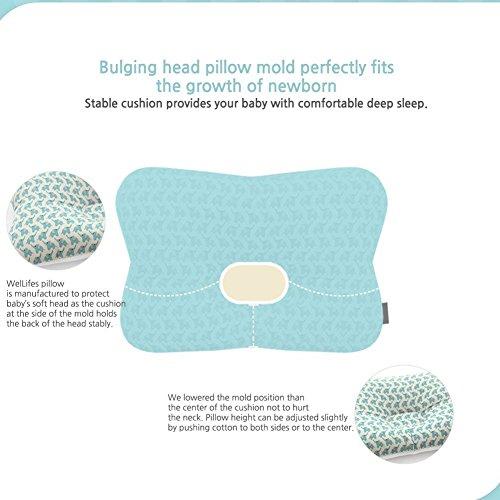 Baby Pillow For Newborn Breathable 3d Air Mesh Organic