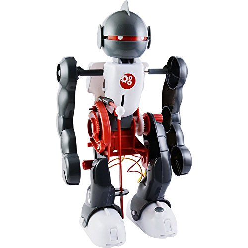 ELSKY Tumbling Robot Kit, Science Walking Robot Toy, DIY Robot Set Educational Kit for Kids Children Funny