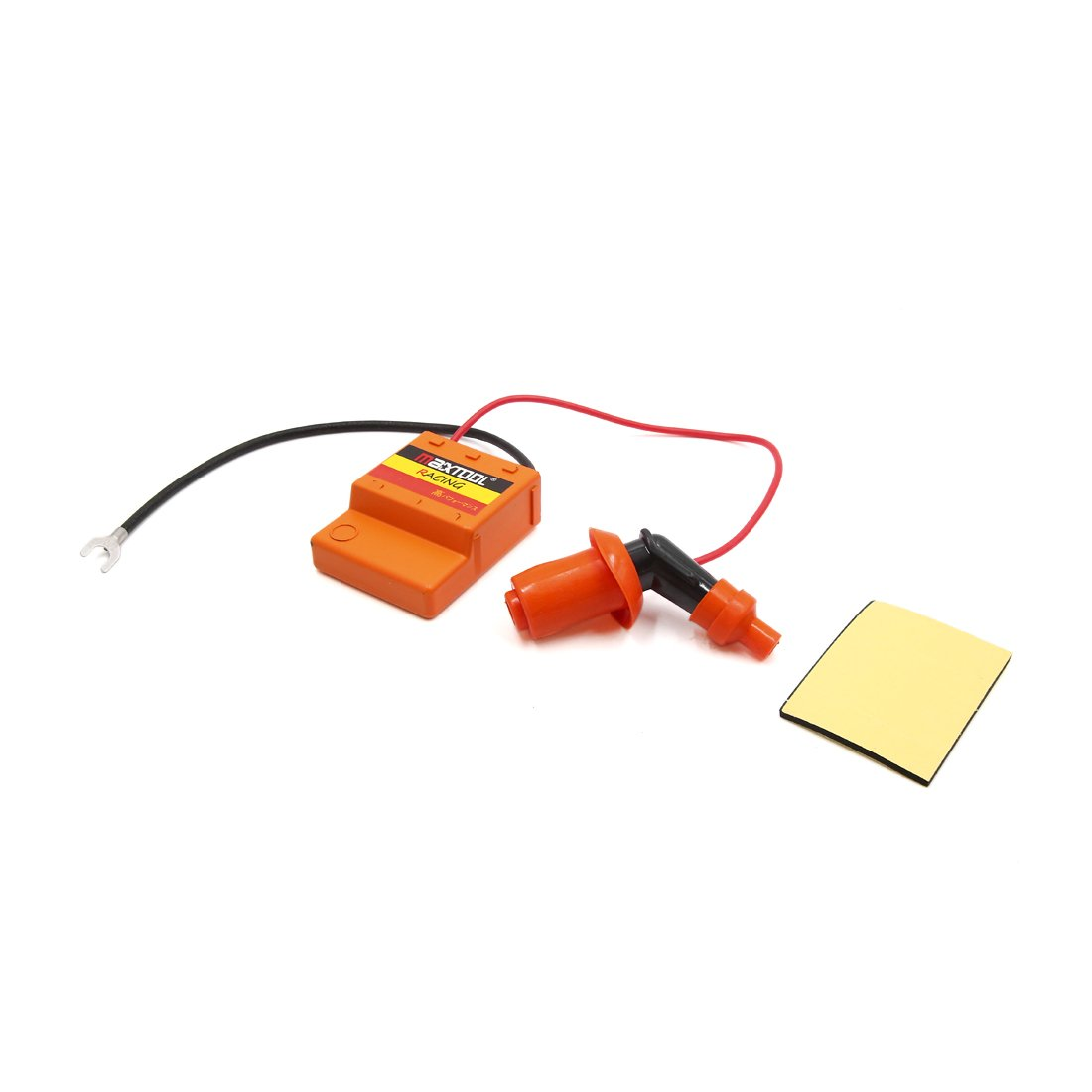 uxcell Motorcycle Scooter Ignition Booster Accelerate Controller w Spark Cap