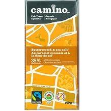 Camino Organic Chocolate Bars - Butterscotch & Sea Salt Milk (12x100g)