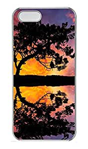 iPhone 5 5S Case Landscapes Reflection PC Custom iPhone 5 5S Case Cover Transparent