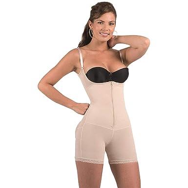 60a56fb8aff78 Bella Mia Women s Full Body Short Body Shaper - Beige -  Amazon.co ...