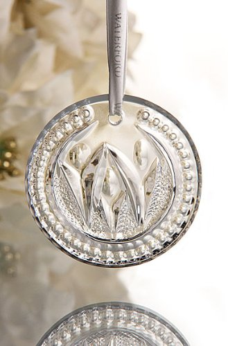 (Waterford Crystal Times Square 2012 Disk Ornament Let There Be)