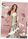 **PRINT AD** With Danielle Steel For 2006 Danielle Perfume **PRINT AD**