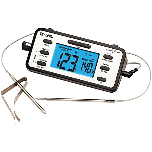 TAYLOR 1485 SmartTemp Dual-Probe Bluetooth Thermometer elect