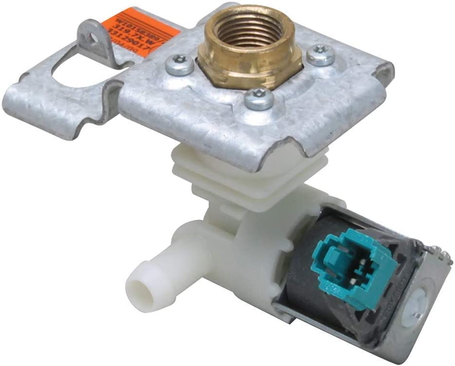 NEW W10158389 Water Valve for Whirlpool Dishwasher by OEM Manufacturer by Primeco WPW10158389, 8558986, 8558987, 8558988, 8563405, 8563406, 8563407, W10158387, W10158389-1 YEAR WARRANTY