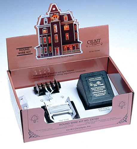 Cir-Kit Concepts Dollhouse Miniature Round Wire Kit