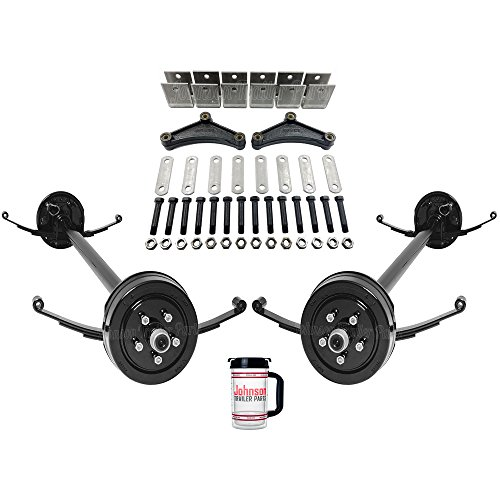 Amazon tandem lb trailer brake axles running gear set