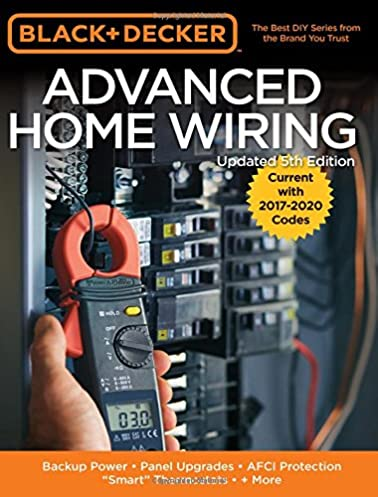 black \u0026 decker advanced home wiring, 5th edition backup powerfollow the author