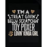 My Family Tee Toy Poxer Lovin' Kinda Girl Gift For Puppy Dog Lovers - Sticker