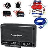 Rockford Fosgate Package R250X4 250 Watt 4-Channel Amplifier + Gravity GR4KIT Amplifier Installation Kit w/ Extra RCA Cable + SoundXtreme TW105 Tweeters 300W