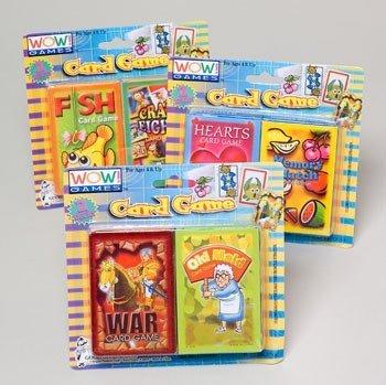 Amazon.com: Kids 2 juegos de cartas surtidos caso Pack 72: Baby