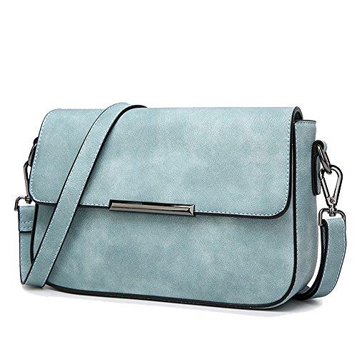 JACVAAP, Sac pour femme à porter à l'épaule, bleu (Bleu) - JVPS2010-S Bleu