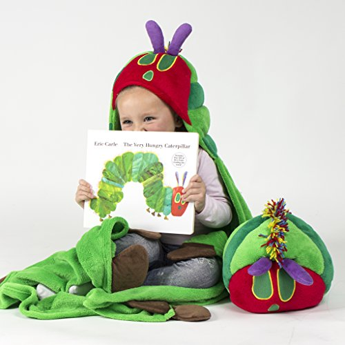 Comfy Critters Stuffed Animal Blanket – The World of Eric Carle, The Very Hungry Caterpillar – Kids huggable pillow and blanket perfect for pretend play, travel, nap time. by Comfy Critters (Image #7)