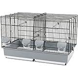 Zolux Cage d'élevage 67 Noir/Gris 70 x 40 x 44 cm