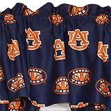 NCAA Auburn Tigers Collegiate Window Treatmeant Valance