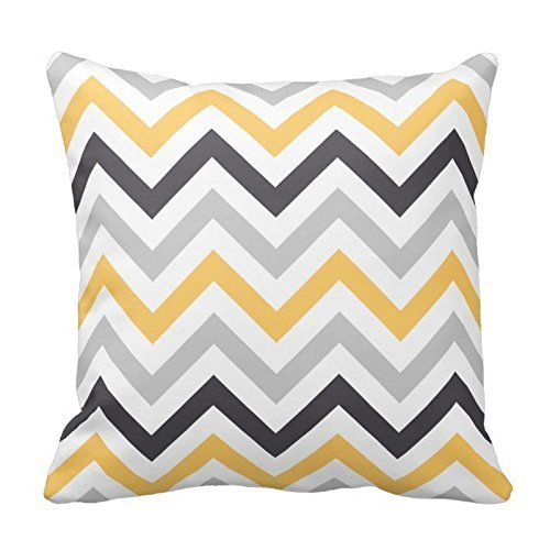 Yellow Chevron Pattern Decorative Case product image