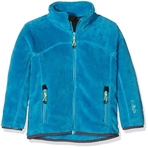 CMP Mädchen Highloft Fleece Jacke, Sea Blue, 140