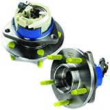 #6: MOTORMAN 513121 Front ABS Wheel Hub and Bearing Set - Both Left and Right - Pair of 2