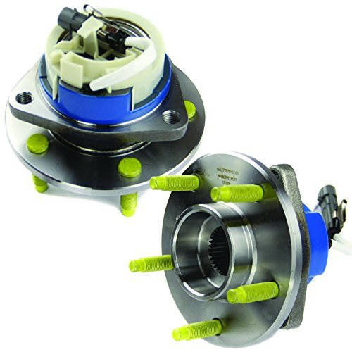 2000 Wheel (MOTORMAN 513121 Front ABS Wheel Hub and Bearing Set - Both Left and Right - Pair of 2)