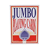 FANTASTIC :) :) :) 8 x 11 Inch Giant Jumbo Playing Cards Deck Family Fun Games Extra Large Poker Deck (1)