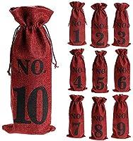 cherrypop 1 a 10 bolsas de vino de arpillera ciegas degustación de vinos