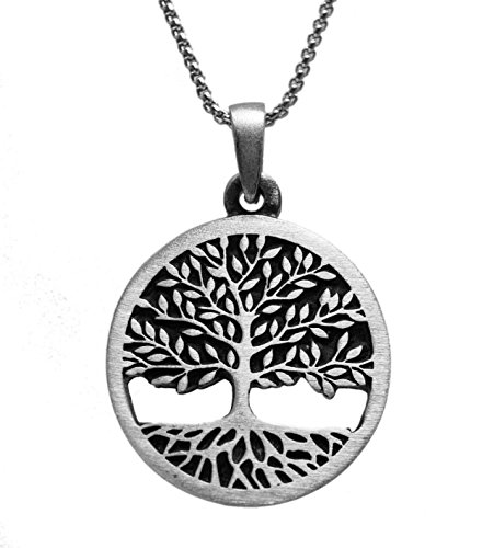 exoticdream Tree of Life Celtic Pewter Pendant Religious Flow Creation IV (24