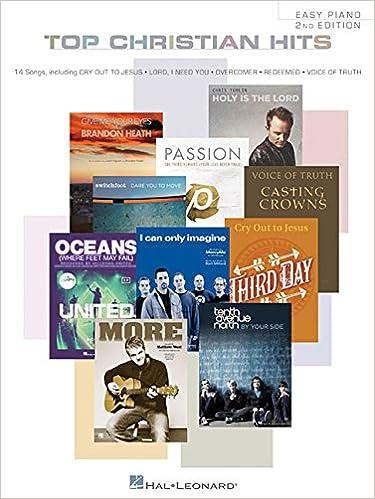 Hal Leonard Top Christian Hits For Easy Piano