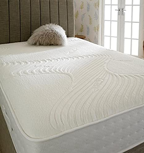 Shire Beds Nuevo Eco Shire Eco Resto colchón, 3 FT, Color Blanco, Blanco