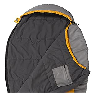 TETON Sports TrailHead Ultralight Mummy Sleeping Bag; Lightweight Backpacking Sleeping Bag for Hiking and Camping Outdoors; Stuff Sack Included; Never Roll Your Sleeping Bag Again; Orange/Grey