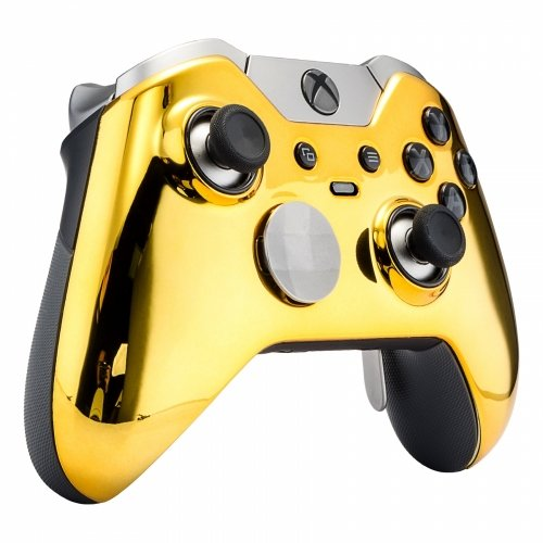 GOLD Xbox One Elite Controller Modded GM Master Mod for Call of Duty, rapid fire mod for WW2, Destiny 2, MORE Quickscope, Drop shot