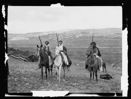Photo: Costumes,characters,Bedouin warriors,Guns,Horses,Tents - Bedouin Horse Costume