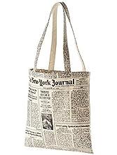 kate spade new york Canvas Tote (Women) - Newsprint