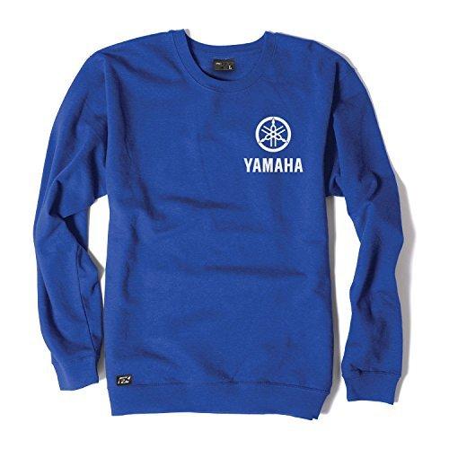 Factory Effex (18-88216) Crew Sweatshirt (Blue, X-Large)