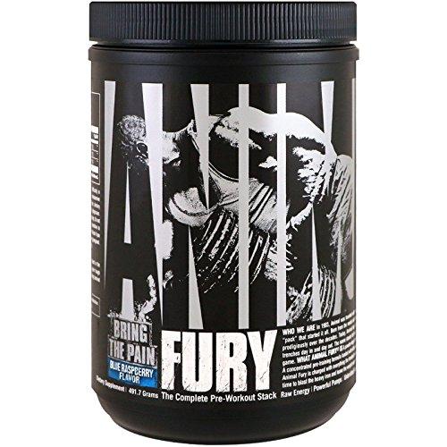 Animal Fury Workout Powder Supplement product image