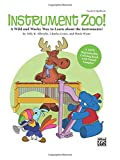 img - for Instrument Zoo!: A Wild and Wacky Way to Learn about the Instruments! A Reproducible Coloring Book with Sound Samples, Book & Enhanced CD book / textbook / text book