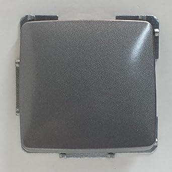 Aus//Wechselschalter UP 230V mit Rahmen und Wippe