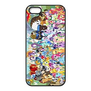 Customize Cartoon My Little Pony Back Cover Case for iphone 5,5S JN5S-1697
