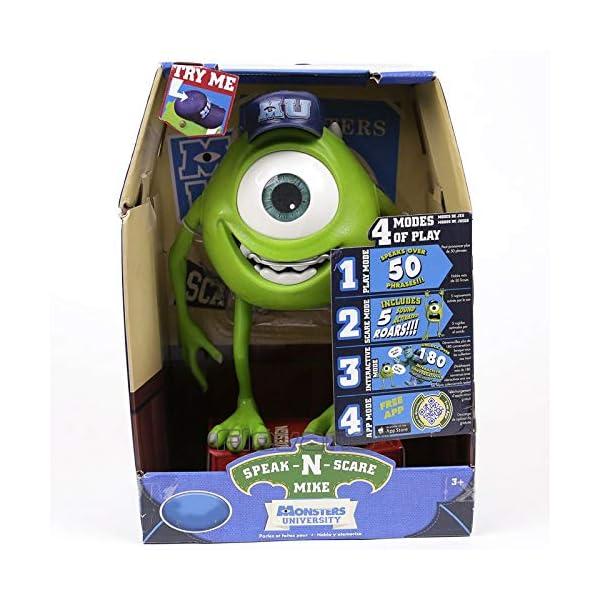 1 Piece Monsters Inc Monsters University Mike Wazowski Squishy Speak N Scare Pvc Figure Toy Gift For Kids Children 25cm Idisneyplus Amazing Disney Products