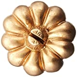 Kate Aspen 25284NA Pumpkin Place Card Holder, Set of 6, Gold